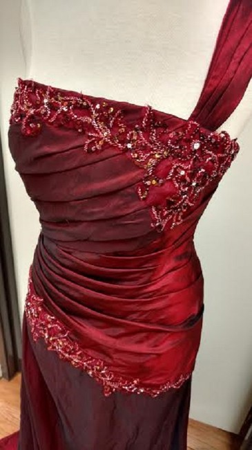 Jade Couture Dress Image 3
