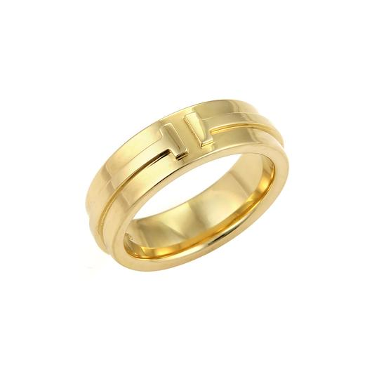 Tiffany & Co. Tiffany & Co. T Two 18k Yellow Gold 5.5mm Wide Band Ring