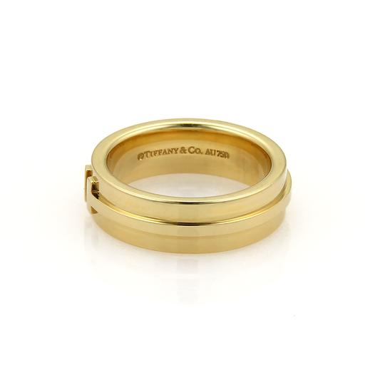 Tiffany & Co. T Two 18k Yellow Gold 5.5mm Wide Band Ring
