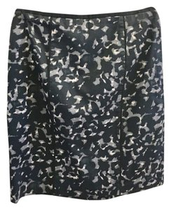Ann Taylor LOFT Pencil Skirt Black & Gray