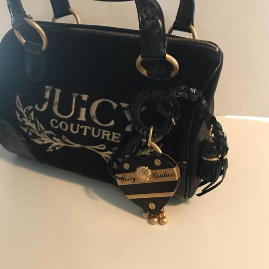 Juicy Couture Satchel in black/gold Image 1
