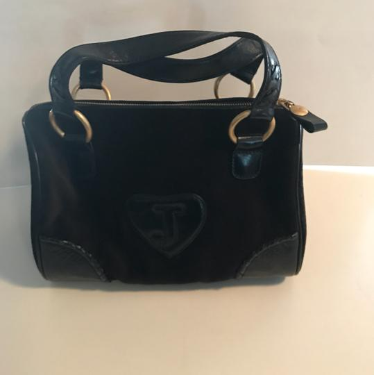 Juicy Couture Satchel in black/gold Image 3