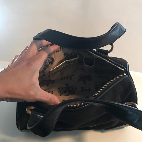 Juicy Couture Satchel in black/gold Image 4