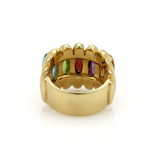 Other Diamond Multicolor Gems 18k Gold Ring Image 2