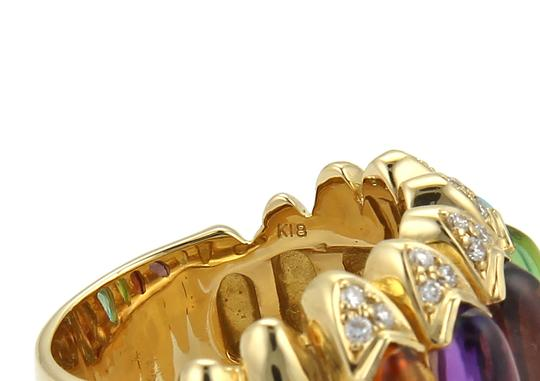 Other Diamond Multicolor Gems 18k Gold Ring Image 3