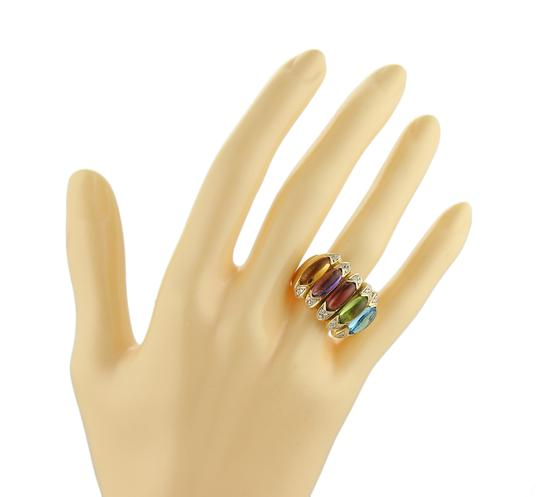 Other Diamond Multicolor Gems 18k Gold Ring Image 4