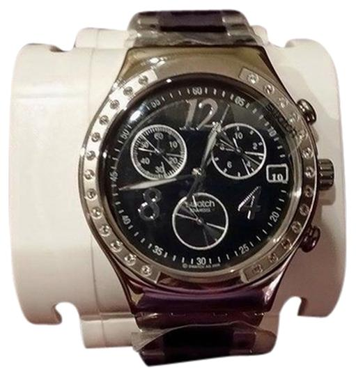 Preload https://item4.tradesy.com/images/swatch-silverblack-scuba-200-chrono-watch-2099968-0-0.jpg?width=440&height=440