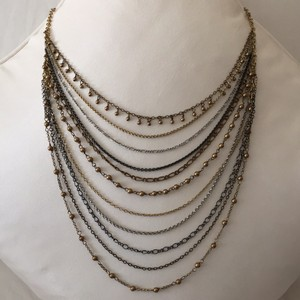 Talbots Multi layered Chain Necklace