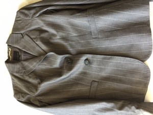 The Limited Gray Pinstriped Women's Suit by The Limited