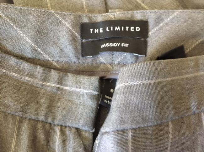 The Limited Gray Pinstriped Women's Suit by The Limited Image 4