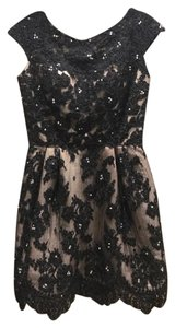Sherri Hill Sequence Lace Dress