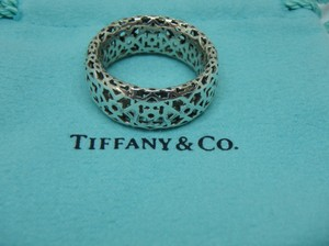 Tiffany & Co. paloma Picasso RARE Silver Marrakesh Ring Size 8