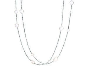 Tiffany & Co. Tiffany & Co. Peretti Pearls by the Yard Silver Sprinkle Necklace 36in