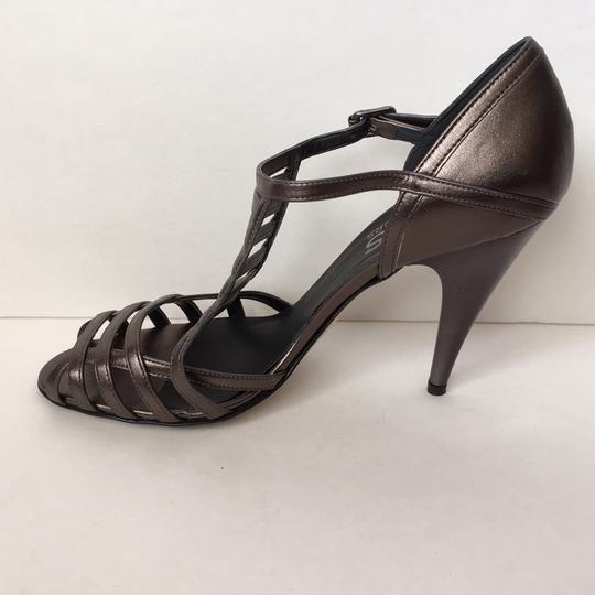 Michael Kors Pewter Metallic Pumps Image 2