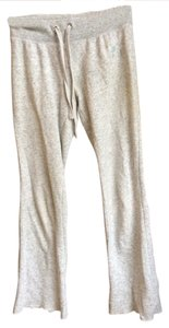 PINK Boot Cut Pants Light spotted Grey