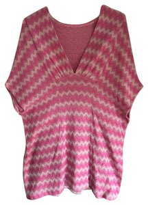 Scoop NYC Chevron Dress