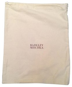 Badgley Mischka NEW Authentic Super Soft Drawstring Duster Bag for Shoes or Bag