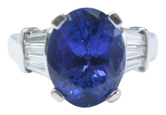 Preload https://img-static.tradesy.com/item/21000363/blue-18kt-gem-tanzanite-diamond-anniversary-solitaire-w-accents-ring-0-1-540-540.jpg