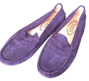 Tod's purple Flats