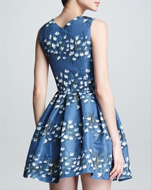 RED Valentino Floral Sweetheart Dress