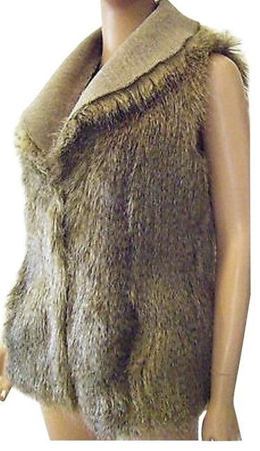 Jeffrey Banks Tweed New Tan Ombre Clearance Vest