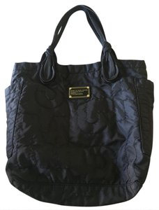 Marc Jacobs Quilted Nylon Tote in BLACK
