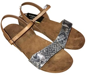 Vionic Sondra Gray/Tan Sandals