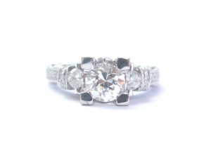 Other 18Kt Old European Cut Diamond Engagement Jewelry Milgrain Ring 1.75Ct