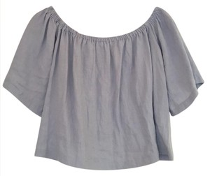 Reformation Top Light Blue