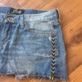 Lucky Brand Cut Off Shorts Denim, Blue, White, Black, Red, Green, Yellow Image 3