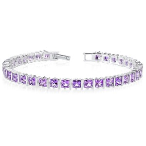 Other 4mm Amethyst Tennis Bracelet