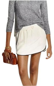 Madewell Mini Skirt Off white