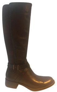 Andre Assous Waterproof Riding Andre New Tumbled Cognac (Dark Brown) Boots