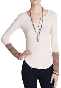 Free People T Shirt FROSTY PINK
