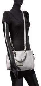 Marc by Marc Jacobs Too Hot To Handle Pebbled Leather Top Satchel in Storm Cloud