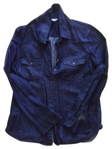 Banana Republic Button Down Shirt Denim