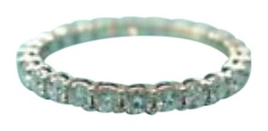 Tiffany & Co. Tiffany & Co Platinum Full Circle Diamond Eternity Band Size 4.25 .86C