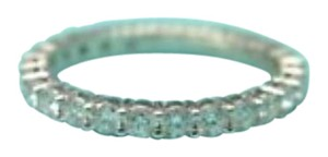 Tiffany & Co. Tiffany & Co Platinum Full Circle Diamond Eternity Band Size 4 .86Ct