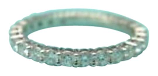 Tiffany & Co. Tiffany & Co Platinum Full Circle Diamond Eternity Band Size 4 .86Ct Image 0