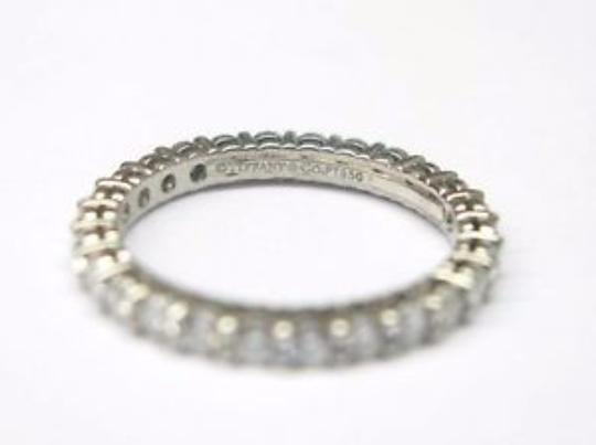 Tiffany & Co. Tiffany & Co Platinum Full Circle Diamond Eternity Band Size 4 .86Ct Image 1