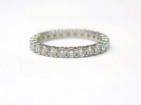 Tiffany & Co. Tiffany & Co Platinum Full Circle Diamond Eternity Band Size 4 .86Ct Image 2