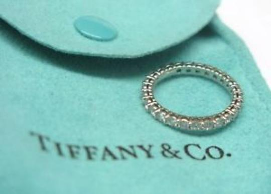 Tiffany & Co. Tiffany & Co Platinum Full Circle Diamond Eternity Band Size 4 .86Ct Image 3