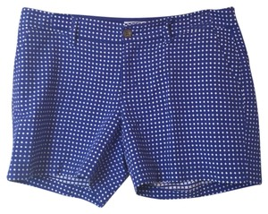 Old Navy Mini/Short Shorts Royal Blue and White
