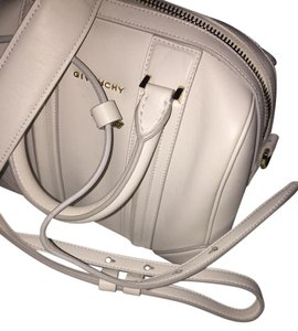 Givenchy Leather Tote in White