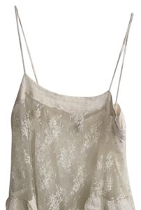 Free People Top off white lace