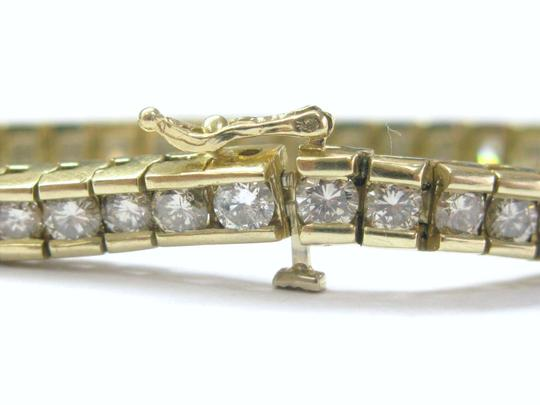 Other Fine Round Cut Diamond Tennis Bracelet Yellow Gold 14Kt 8.00CT Image 1