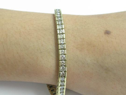 Other Fine Round Cut Diamond Tennis Bracelet Yellow Gold 14Kt 8.00CT Image 4