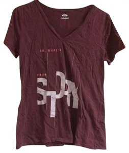 Old Navy T Shirt burgundy