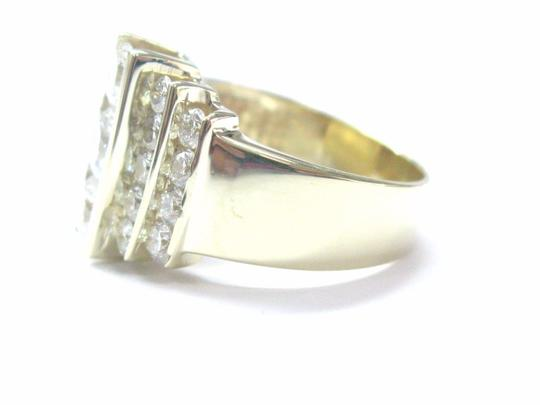Other Fine Round Brilliant Diamond Cocktail Jewelry Yellow Gold Ring 2.36CT Image 1