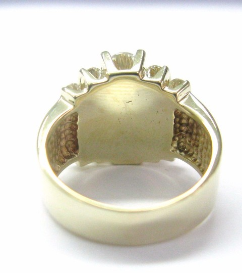 Other Fine Round Brilliant Diamond Cocktail Jewelry Yellow Gold Ring 2.36CT Image 3